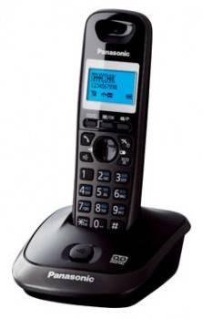 Телефон Panasonic KX-TG2521RUT темно-серый металлик