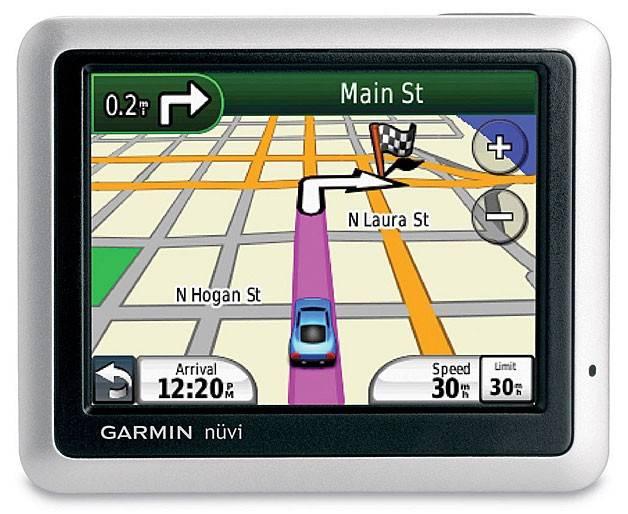 "GPS-навигатор Garmin Nuvi 1255T 3.5"" серебристый - фото 1"