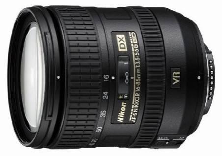 Объектив Nikon AF-S NIKKOR DX VR 16-85/3.5-5.6G 16-85mm f/3.5-5.6 - фото 1