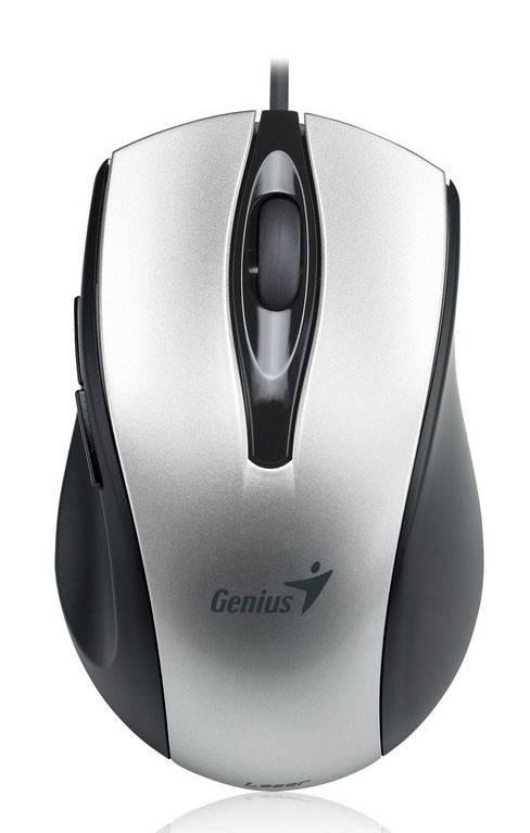 Мышь Genius Ergo 325L серебристый - фото 1