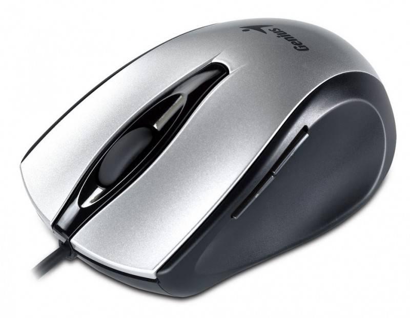 Мышь Genius Ergo 325L серебристый - фото 3