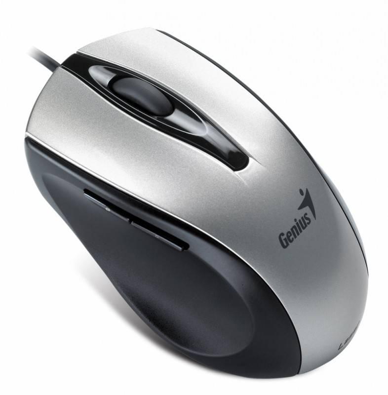 Мышь Genius Ergo 325L серебристый - фото 5