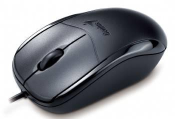 Мышь Genius NetScroll 100X черный