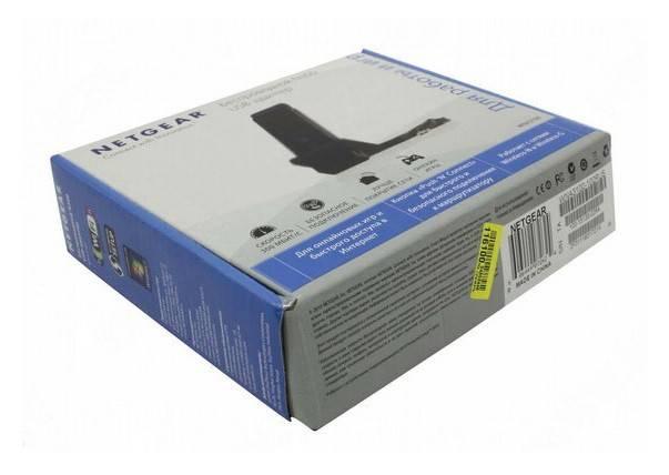 Сетевой адаптер WiFi NetGear WNA3100-100RUS - фото 6