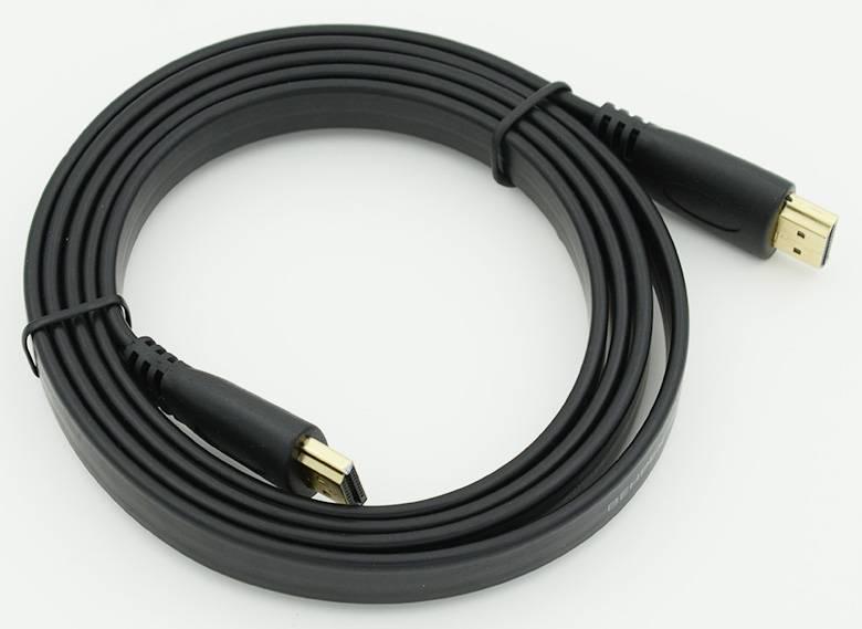 Кабель Flat v1.3 HDMI (m)/HDMI (m), ver 1.3, 1.5м. - фото 1