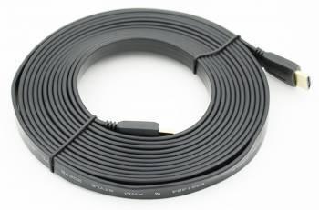 Кабель FLAT 5м. HDMI (m)/HDMI (m)