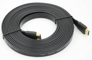 Кабель Video HDMI to HDMI (19pin to 19pin) FLAT . 5m ver1.4
