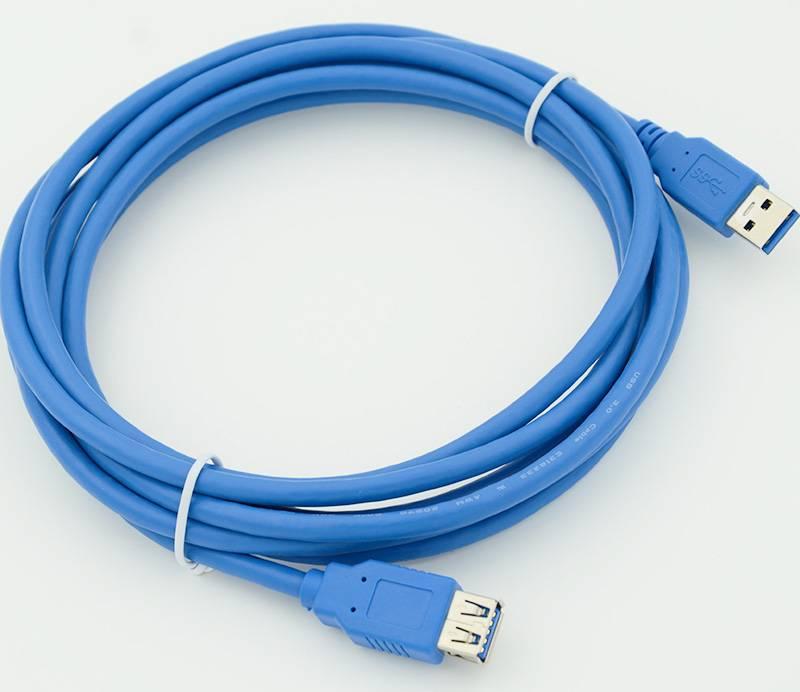 Кабель USB A(m)/USB A(f) 3м. - фото 1