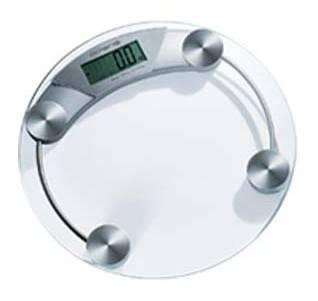 Весы напольные электронные Polaris PWS1514DG серебристый