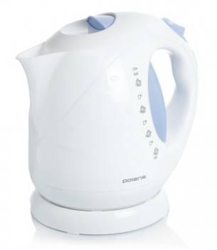 Чайник электрический Polaris PWK2013C белый / синий