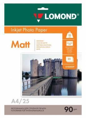 Бумага Lomond (0102029) A4 / 90г / м2 / 25л. белый