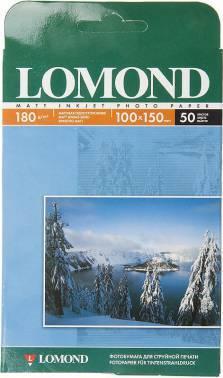Бумага Lomond (0102063) 10x15 / 180г / м2 / 50л. белый