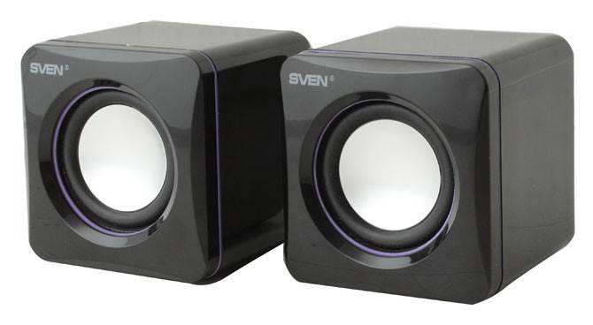 Колонки Sven 315 черный 2.0 - фото 1