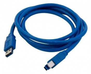 Кабель PC Pet USB A(m)/USB B(m) 1.5м. (USAMBM30-15)