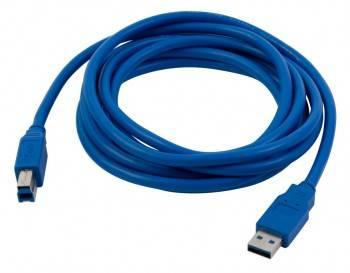 Кабель PC Pet USB A(m)/USB B(m) 3м. (USAMBM30-30)