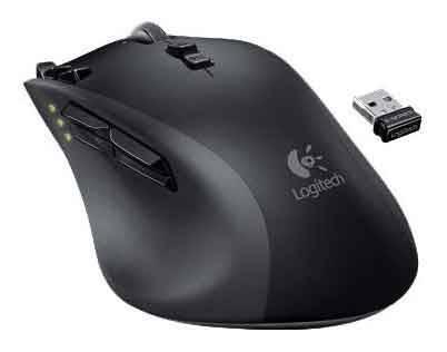 Мышь Logitech G700 черный - фото 2