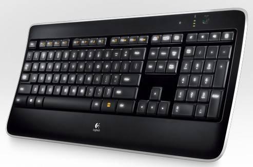 Клавиатура Logitech K800 черный - фото 2