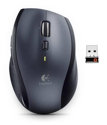 Мышь Logitech M705 серебристый/черный (910-001949) - фото 1