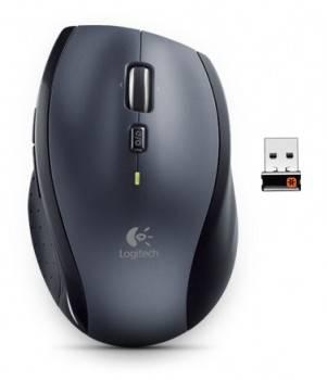 Мышь Logitech M705 серебристый / черный
