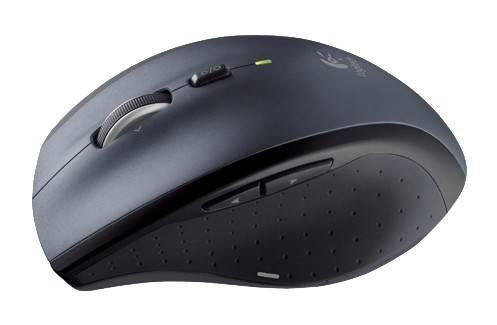 Мышь Logitech M705 серебристый/черный (910-001949) - фото 7