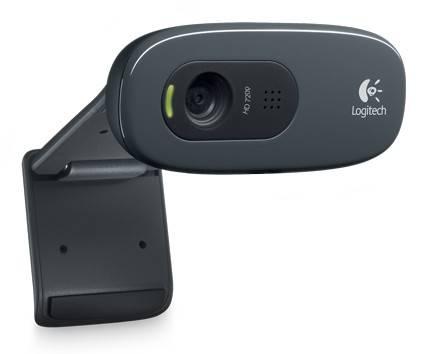 Камера Web Logitech HD Webcam C270 черный (960-001063) - фото 1