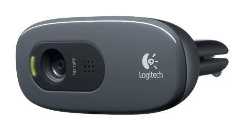 Камера Web Logitech HD Webcam C270 черный (960-001063) - фото 4