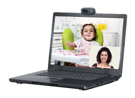 Камера Web Logitech HD Webcam C270 черный (960-001063) - фото 6