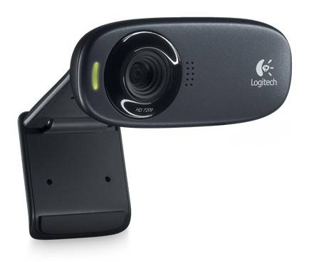 Камера Web Logitech HD Webcam C310 черный (960-001065) - фото 1