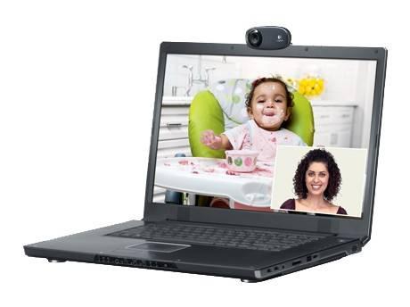 Камера Web Logitech HD Webcam C310 черный (960-001065) - фото 6