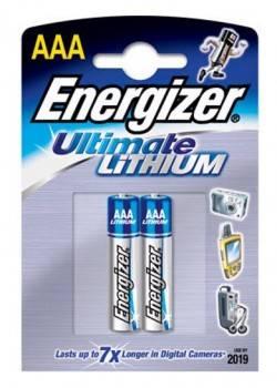 Батарея AAA Energizer Ultimate FR03 L92, в комплекте 1шт. (629769)