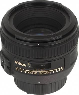 Объектив Nikon Nikkor AF-S 50mm f/1.4 (JAA014DA)
