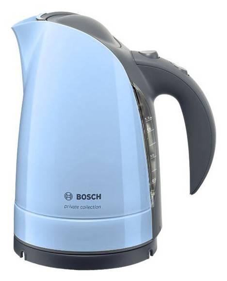 Чайник электрический Bosch TWK6002 голубой - фото 1