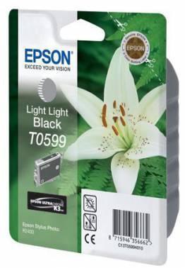 Картридж Epson T0599 светло-серый (C13T05994010)
