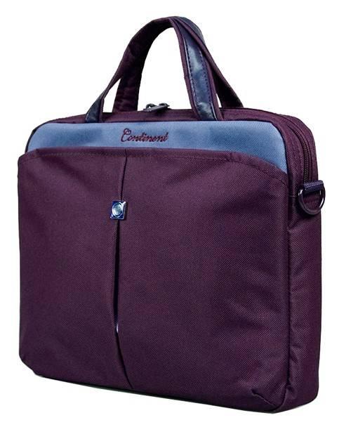 """Сумка для ноутбука 10"""" Continent CC010 фиолетовый - фото 1"""