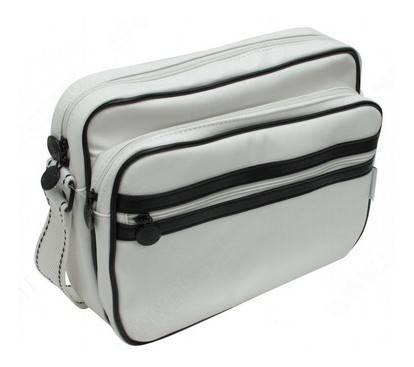 """Сумка для ноутбука 11.1"""" Continent CC061 светло-серый/черный - фото 1"""