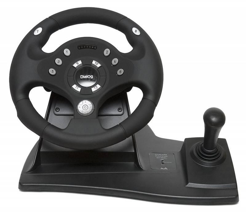Руль+педали Dialog GW-11VR Rally-Sport - фото 2