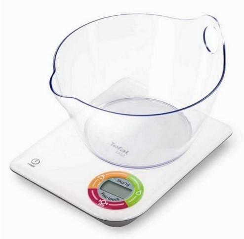 Кухонные весы Tefal BC5050 белый - фото 2