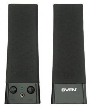 Акустическая система 2.0 Sven 235 черный