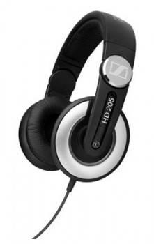 Наушники Sennheiser HD 205 II черный/серебристый (504292)