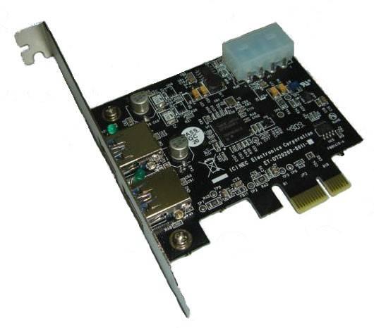Контроллер PCI-E Nec D720200F1, 2xUSB3.0, Bulk (ASIA PCIE 2P USB3.0) - фото 1