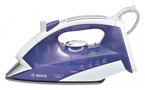 Утюг Bosch TDA3637 фиолетовый/белый - фото 1