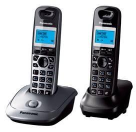 Телефон Panasonic KX-TG2512RU2 титан