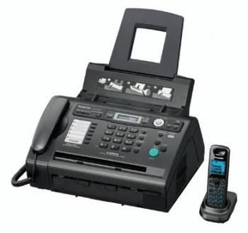 Факс Panasonic KX-FLС418RU черный