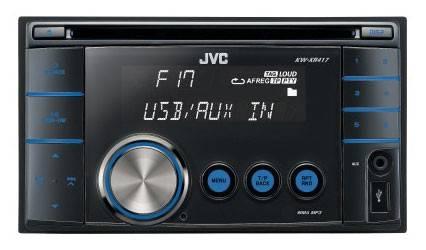 Автомагнитола JVC KW-XR417ЕЕ - фото 1