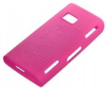 Чехол Nokia CC-1001, для Nokia X6, розовый