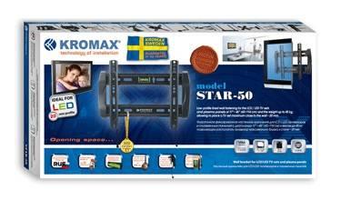 Кронштейн для телевизора Kromax STAR-50 серый - фото 3