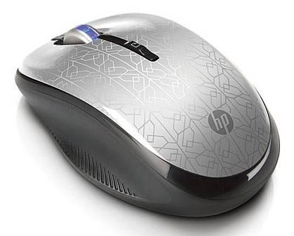 Мышь HP WE790AA серебристый/черный - фото 1