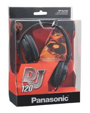 Наушники Panasonic RP-DJ120 черный - фото 2