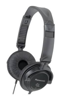 Наушники Panasonic RP-DJ120 черный - фото 1