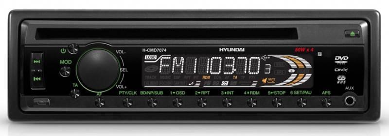 Автомагнитола Hyundai H-CMD7074 - фото 1